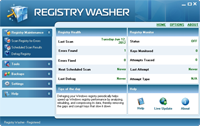 Registry Washer