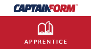 CaptainForm – Apprentice discount coupon