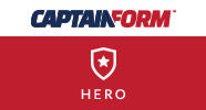 CaptainForm - Hero | 123ContactForm