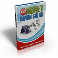 No Money Down Solar discount coupon