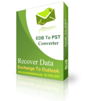 Recover Data for Exchange EDB to Outlook PST - Corporate License