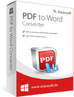 Aiseesoft PDF to Word Converter discount coupon