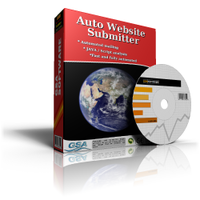 GSA Auto Website Submitter Screen shot