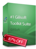 #1 Gilisoft Toolkit Suite – 1 PC / Liftetime free update discount coupon