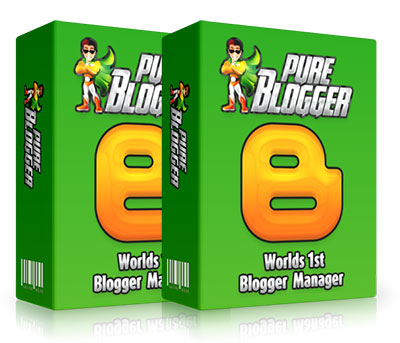Blogger Management Software, PURE BLOGGER