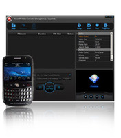 <p>About BlackBerry Video Converter is easy-to-use, powerful BlackBerry converter which helps you convert video files, YouTube videos, movies to BlackBerry phone.</p>