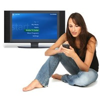 Watch TV on more than 500 mobile phones, Pocket PCs, iPod, PSP and portable media players. Works with Windows Media Center (Vista or XP)