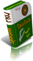 <p> 	SpinGold Roulette Companion analysis software revolutionizes the way you play roulette with your favorite online casinos. Includes charts, history reports, graphs, strategies, tutorials and in depth analysis. Your ODDS of winning are significantly improved.</p>