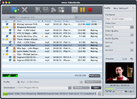 <p>Amac VideoStudio can convert video/audio files of almost all formats, making them compatible with all popular digital devices. Batch-capturing movie screens and creating videos from pictures are also possible. Now you can transfer the converted files to iPod, iPhone, and PSP directly. And this Mac video converter allows you to join/clip/split files, crop, add watermarks/soundtracks, and apply artistic effects before conversion.</p>