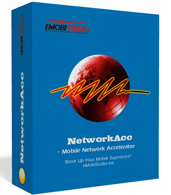 <p> 	NetworkAcc is a powerful mobile network accelerator specially designed for Windows Mobile smartphone users. It accelerates all your mobile-network based activities, which include browsing, downloading, uploading, streaming, online gaming, sending and receiving email, etc.</p>