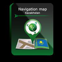 Карта Навител Казахстан