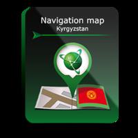 Карта Навител Кыргызстан