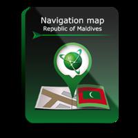 Карта Навител Мальдивы