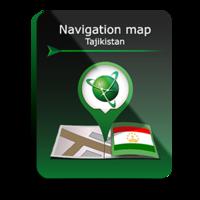 Карта Навител Таджикистан