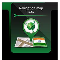 Карта Навител Индия