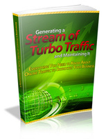 15% Discount Coupon code for Generating a Stream Of Turbo Traffic