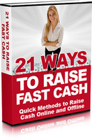 15% Discount Coupon code for 21WaysToRaiseFastCash