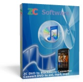 <p> 	ZC DVD to BlackBerry Converter is not noly a fast and easy-to-use DVD Ripper program, but also a DVD Player, DVD Recorder, Audio Ripper program, which can play dvd, record the DVD movie you are watching, convert DVD title and chapter, rip DVD audio track, transcode to BlackBerry movie and BlackBerry Ringtone music format. It is the best solution on how to copy DVD movie video and DVD audio with small size and high quality to BlackBerry Phone. With ZC DVD to BlackBerry Converter, you will be able copy DVD and convert DVD to BlackBerry Phone avi, divx, xvid, mpeg4, h263, wmv video movie and BlackBerry Phone mp3, wav, wma, amr-nb, aac ringtone music easily, and then enjoy your movie and music on the go anywhere anytime.</p>