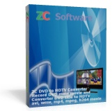 <p> 	ZC DVD to HDTV Converter is not noly a fast and easy-to-use DVD Ripper program, but also a DVD Player, DVD Recorder program, which can play dvd, record any DVD movie you are watching, convert DVD title and chapter, transcode to avi/wmv/h264/mpeg/mpeg-4/asf/mov HDTV movie. It is the best solution on how to copy DVD movie video to HDTV movie with small size and high quality. With ZC DVD to HDTV Converter, you will be able to put your DVD movie collection on the HDTV screen easily.</p>