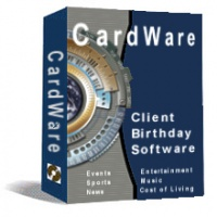 <p> 	CardWare - Birthday Post Edition: The Personal Touch in Corporate Communications. CardWare makes you stand out in your clients mind as someone willing to go the extra mile for their business. CardWare prints date of birth, history-packed 8-1/2-by-11-inch scrolls PLUS greeting card inserts.</p>