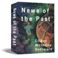"<p> 	News of the Past Professional, ""What happened on the Day You Were Born"" client marketing software. Each print includes content from 18 categories like news headlines, sports, science and technology, entertainment, politics, and cost-of-living then-versus-now comparisons with graphing.</p>"