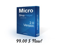 "<p> 	Micro Shop Helper 2.0 by K4N Have you seen where a small retail outlet, after the sale, the seller writes something in a thick notebook? Accounting for sales of goods in your business is a thick notebook and calculator? But what if there was a small, free program to work with which could have even a ""blonde"", and add the sale, you can use a couple clicks of the mouse, without having to open multiple windows, and without introducing unnecessary for a small trading point of the field. The program, which you can keep track of goods, always see the remains, and easy to inventory. The program, which could start a few sellers, and then watch their sales for the day, month, year. Plus, the ability to view all sales on the site remotely, on any of your outlets. And it's with h the ability to write plug-in programming language python.</p>"