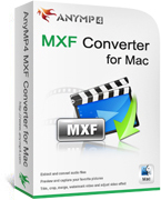 AnyMP4 MXF Converter for Mac Lifetime License