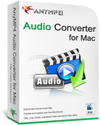 AnyMP4 Audio Converter for Mac Lifetime License