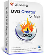 AnyMP4 DVD Creator for Mac Lifetime License