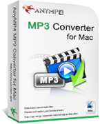AnyMP4 MP3 Converter for Mac Screen shot