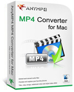 AnyMP4 MP4 Converter for Mac coupon