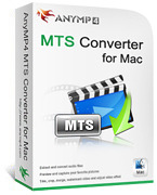 AnyMP4 MTS Converter for Mac coupon