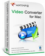AnyMP4 Video Converter for Mac coupon