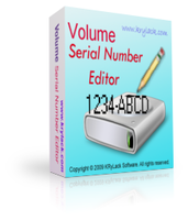 Volume Serial Number Editor UNLIMITED License discount coupon