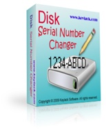 <p>Disk Serial Number Changer can modify your disk drive's Volume Serial Number (not hard disk's physical serial which you can find at back of your hard disk), the format of Volume Serial Number is: XXXX-XXXX (X maybe 0, 1, 2, 3, 4, 5, 6, 7, 8, 9, A, B, C, D, E, F).</p>