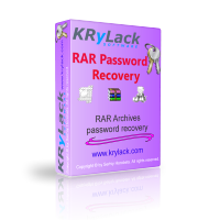<p> 	KRyLack RAR Password Recovery recovers lost passwords for RAR (WinRAR) archives.</p>