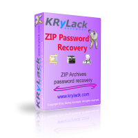 <p> 	KRyLack ZIP Password Recovery recovers lost passwords for encrypted ZIP archives.</p>