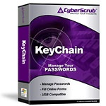 CyberScrub KeyChain discount coupon
