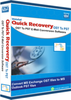 Quick Recovery for MS Exchange OST to MS Outlook PST - Corporate License