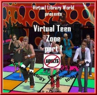 Discount code of Virtual Teen Zone p1, Thought provocative issues that teens struggle with are discussed.