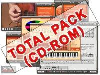 Pack Complet des 7 logiciels sur CD-ROM