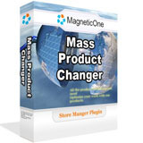 <p>Mass Product Changer addon designed to automate and improve mass operations over multiple products at once.</p> <p><strong> </strong></p>