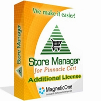 <p>Store Manager for Pinnacle Cart is a Windows application to quickly and effectively manage your Pinnacle Cart online store. You can manage Pinnacle Cart products, Pinnacle Cart product attributes, categories, manufacturers, orders, locale and much more.</p>
