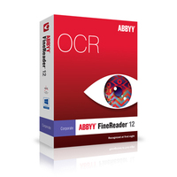 ABBYY FineReader 12 Corporate Edition Upgrade, 4 Cores, 3 Concurrent Licenses, Download