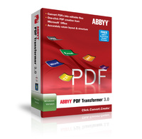 ABBYY PDF Transformer Plus Pack of 3 Licenses coupon code