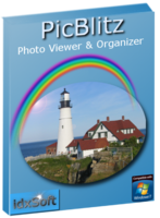 <p> 	<strong>PicBlitz Photo Viewer and Organizer Professional </strong> features a viewer with video-like speed and an organizer with a do it first, save it later design supporting all major digital camera formats. The viewer has a no-click, mouse hover design. Mouse over an image and it is displayed in the blink of an eye, so fast, it will surprise you. Instantly search by filename; thousands of results are returned in an instant.</p> <p> 	<strong>Over 500,000 photos. Lifetime license. Internet Activation Required. 1 license per PC.</strong></p>