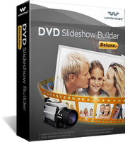 Wondershare DVD Slideshow Builder Deluxe Screen shot