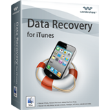 Wondershare Data Recovery for iTunes for Mac Screen shot