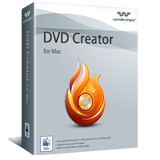 Discount code of Wondershare DVD Creator for Mac