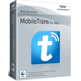 Wondershare MobileTrans for Mac One Year License discount coupon